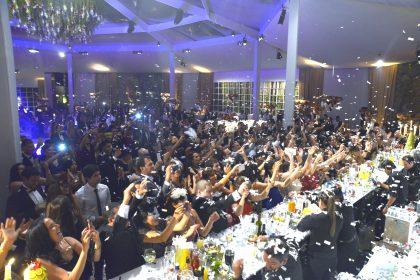 La boda asistieron más de 500 invitados