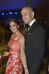 Luciana Olivares y Samuel Sánchez