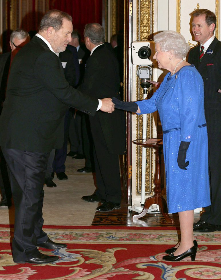 Harvey Weinstein Elizabeth II