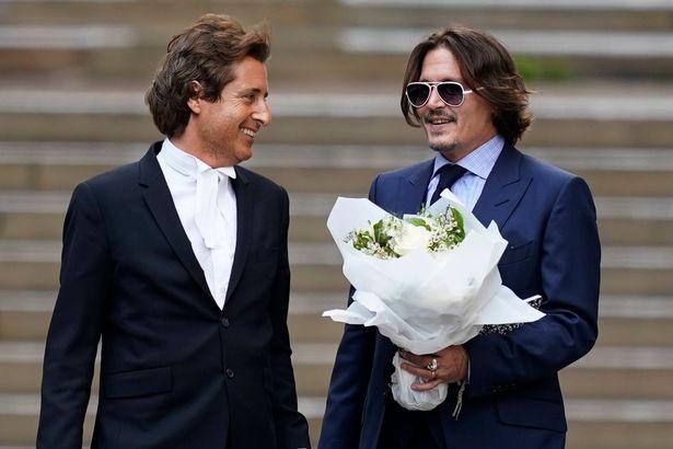 David Sherborne y Johnny Depp