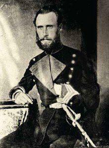 Coronel Nemesio de Orbegoso, defensor de Lima (1881).