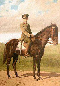 Capitán Alfredo Novoa, héroe de la campaña de 1941.