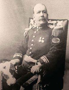 General Juan Norberto Eléspuru, ministro de Guerra y Marina y varias veces senador.