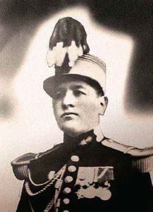 Hijo mayor de infantería Juan Norberto Eléspuru Báez