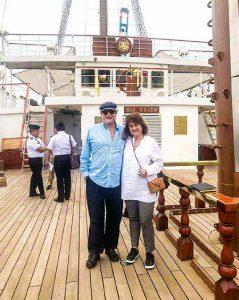 Enrique y su esposa, Carmen Bellido