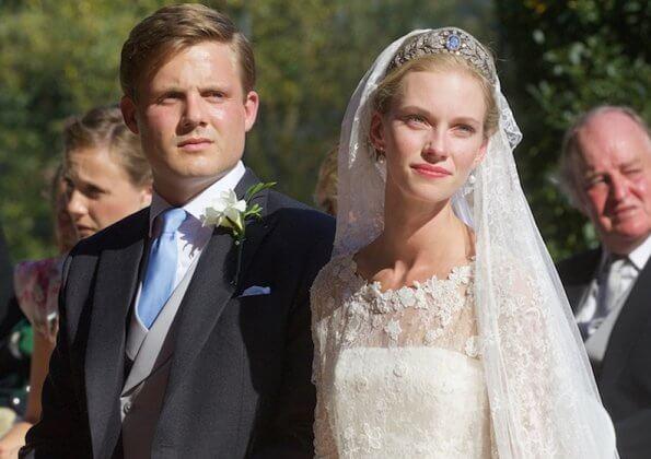 Archiduquesa Gabriella de Austria y Príncipe Henri de Borbón-Palma