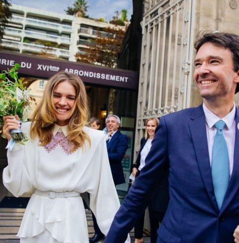 Las bodas mas glamororsas: Natalia Vodianova y Antoine Arnault
