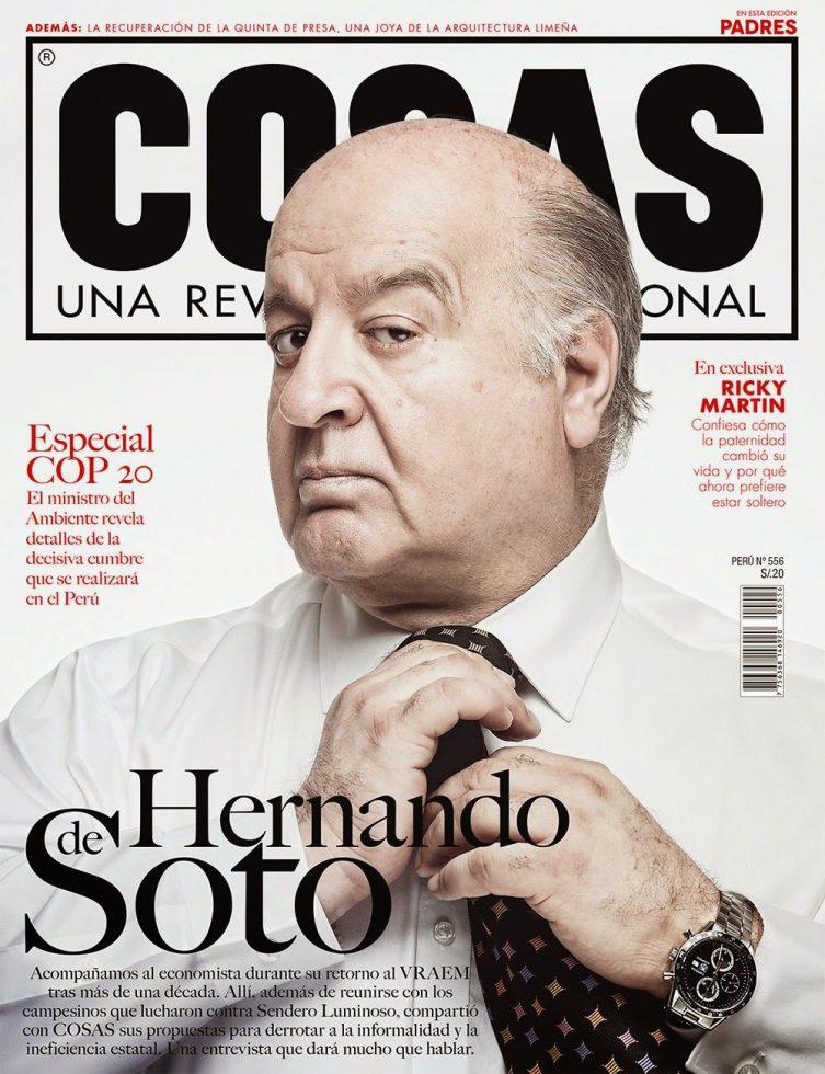Hernando de Soto Revista COSAS