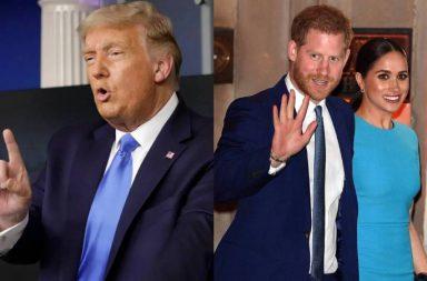 Donald Trump Meghan Markle Principe Harry