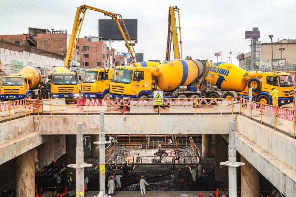 Obras infraestructura Metro de Lima