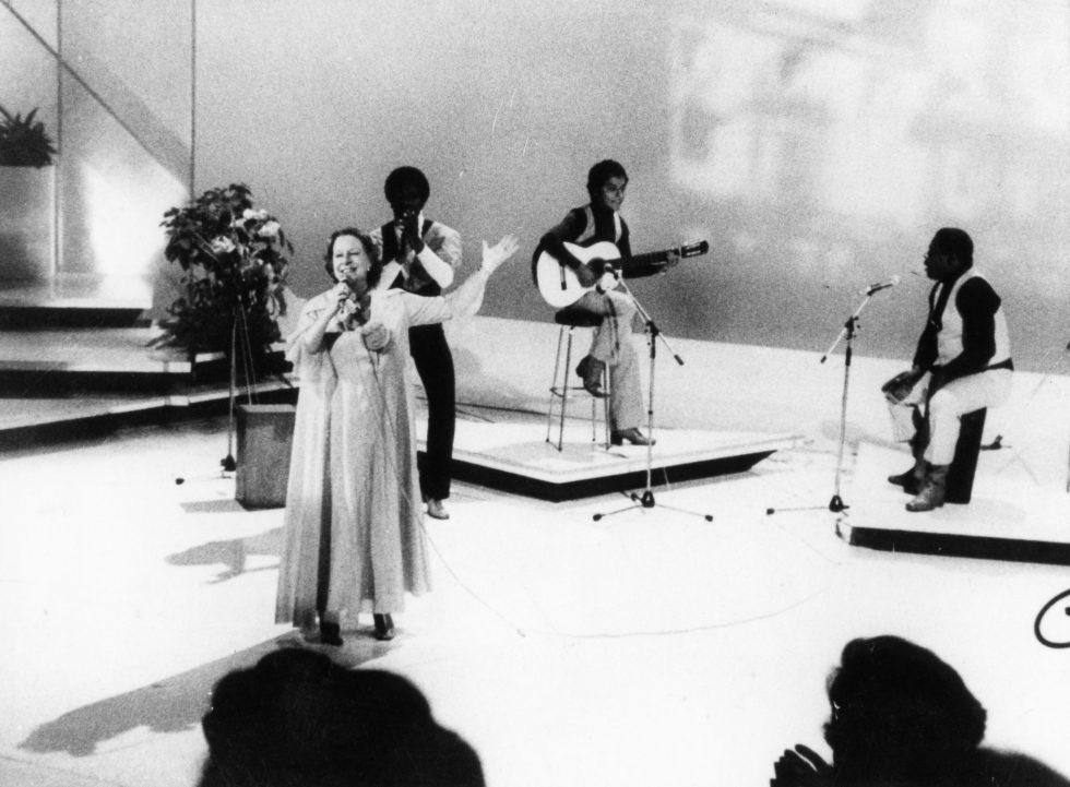 Chabuca Granda Chile TV Chile te invita 1981