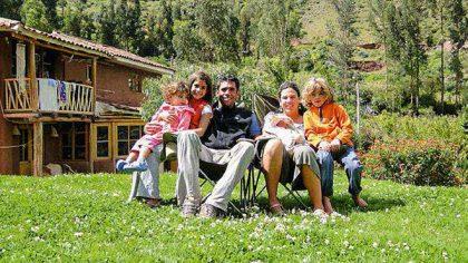 """Marlis Ferreyros reside en el Valle Sagrado del Cusco desde hace más de diez años junto con su familia. """"El ritmo es otro, te levantas y te acuestas casi que con el sol"""", afirma"""