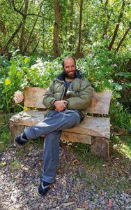 """""""La felicidad está en la paz y la armonía... y en el campo uno encuentra la manera de vivir en esa frecuencia"""", explica Víctor Velaochaga."""