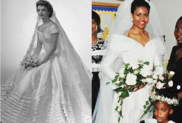 Vestidos de Novia: Jackie Kennedy y Michelle Obama