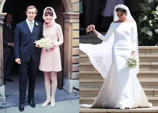 Vestido de novia: Audrey Hepburn y Meghan Markle