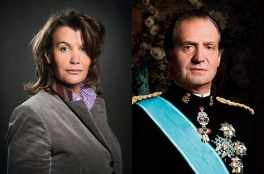 Ingrid Sartiau rey Juan Carlos