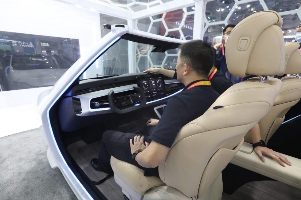 Auto: Cabina inteligente Huawei