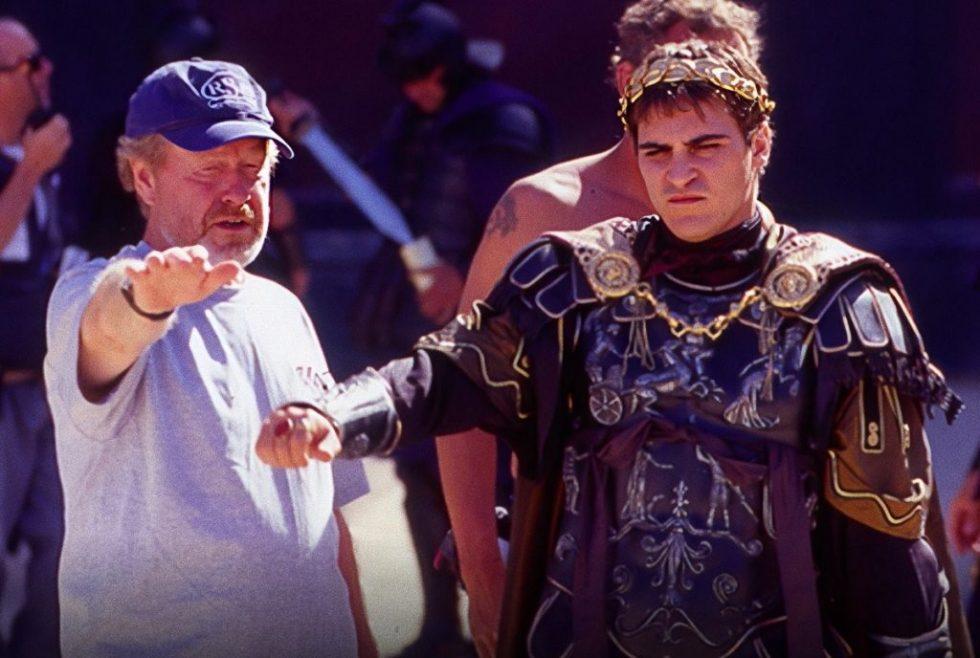 Phoenix y Ridley Scott