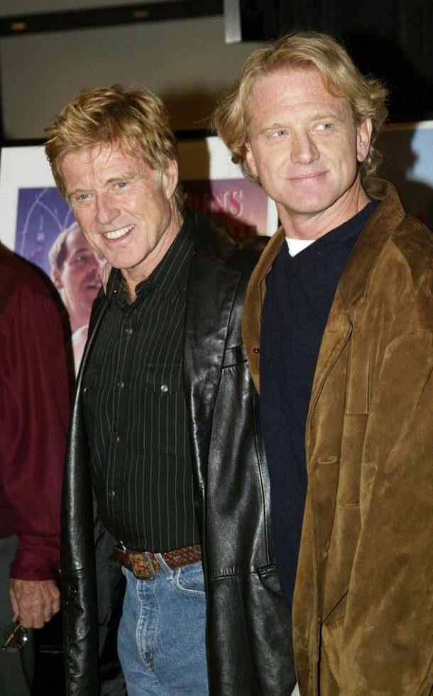 James y Robert Redford