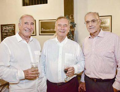 Armando Páez, David Marsano y Augusto Ferrero.