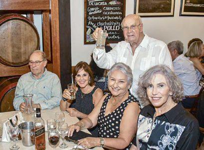 Eduardo Sambucetti, Mónica Soro, Rocío Piaggio, Mariella Zapler y Fernando Ferrero.