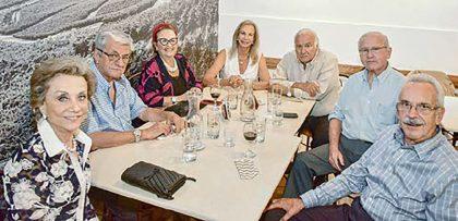 Ilaria Ciabatti, Federico Vaccari, Myrtha Martínez, Cecilia y Humberto Galleno, Emilio van Oordt y Gery Ciabatti.