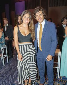 Daniela Talavera y Nicolás Galindo.