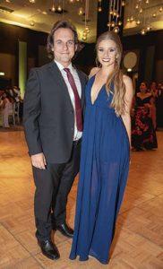 Diego Seminario y Macarena Carrillo.