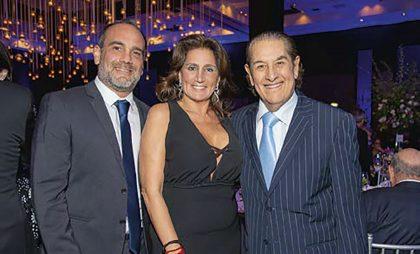 Fernando Ponce, Giselle Said y Juan Castro Nalli.