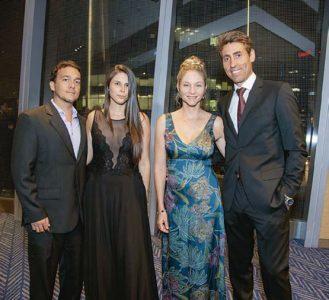 José Vásquez, Mariella Campodónico, Francesca Reátegui y Xavi López.