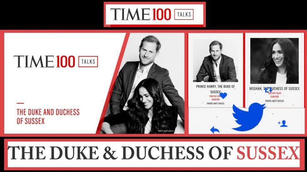 Duques de Sussex Time100