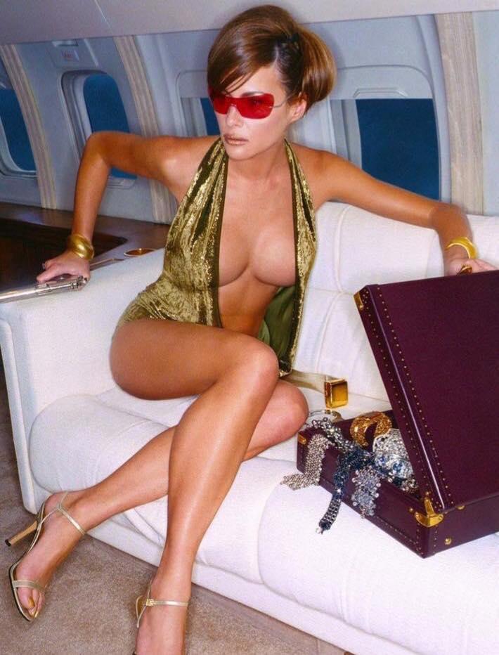 Melania Trump durante sus años de modelo.