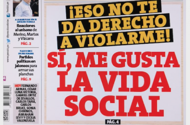 Peru 21 Violación sexual
