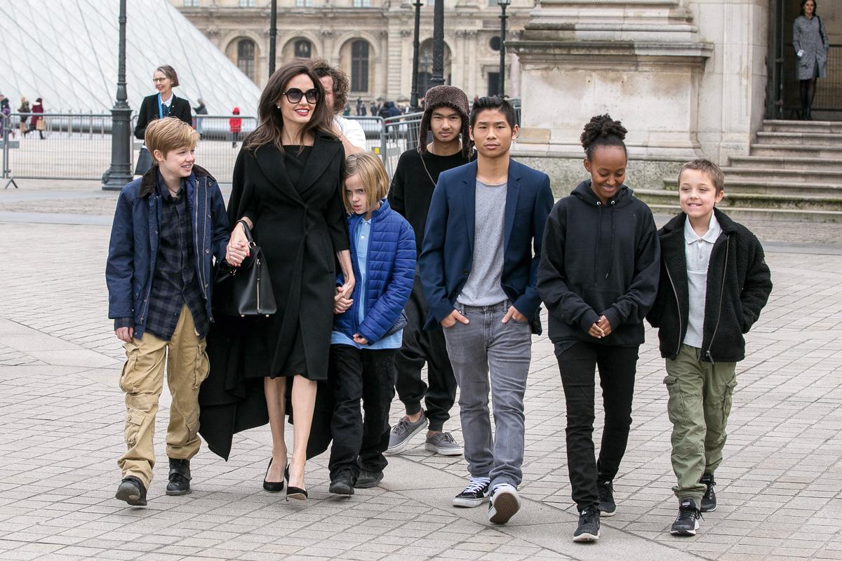 angelina jolie brad pitt hijos juicio de divorcio