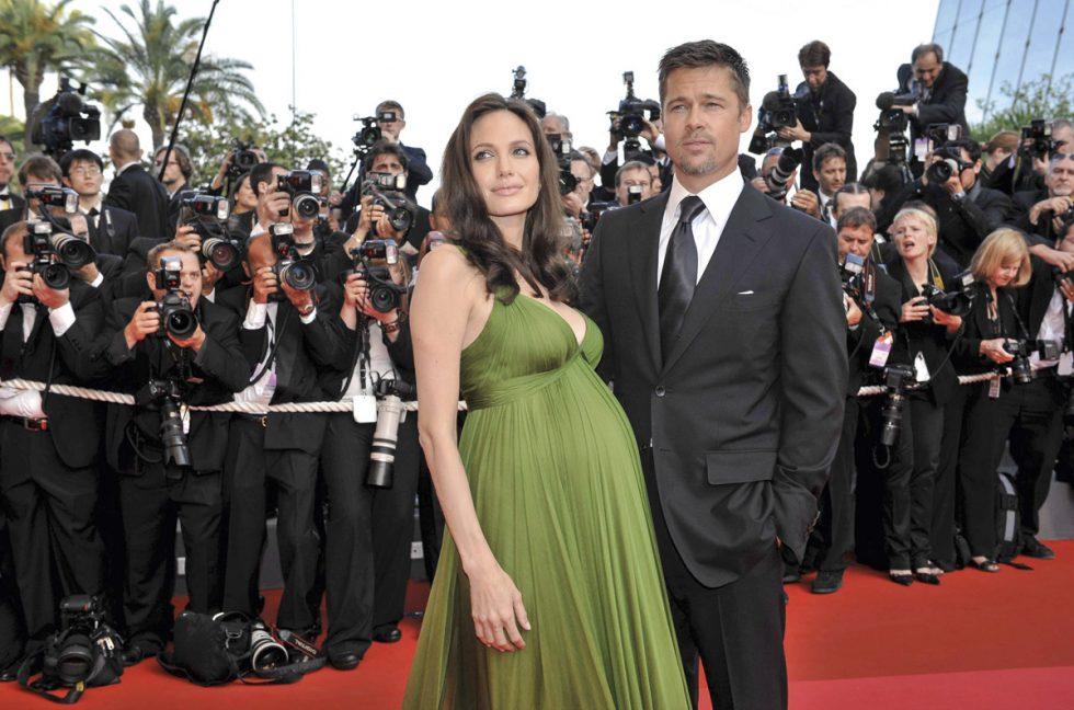 Brad Pitt y Angelina Jolie Cannes