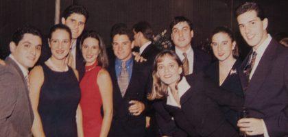 Daniel Samson, Claudia Cánepa, Renato Riva, Francesca Cánepa, Javier Segovia, Carla Carozzo, Héctor Gallegos, Verónica Cooper y Miguel Uccelli