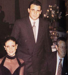 Maria Zita La Rosa, Javier La Rosa Henrich y Javier La Rosa M.