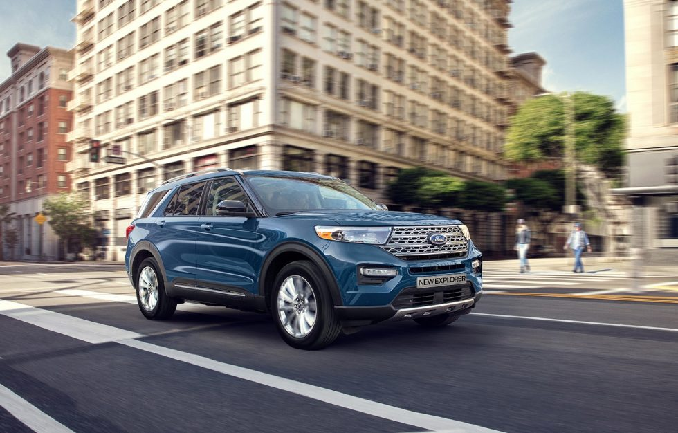 All New Explorer Ford 1
