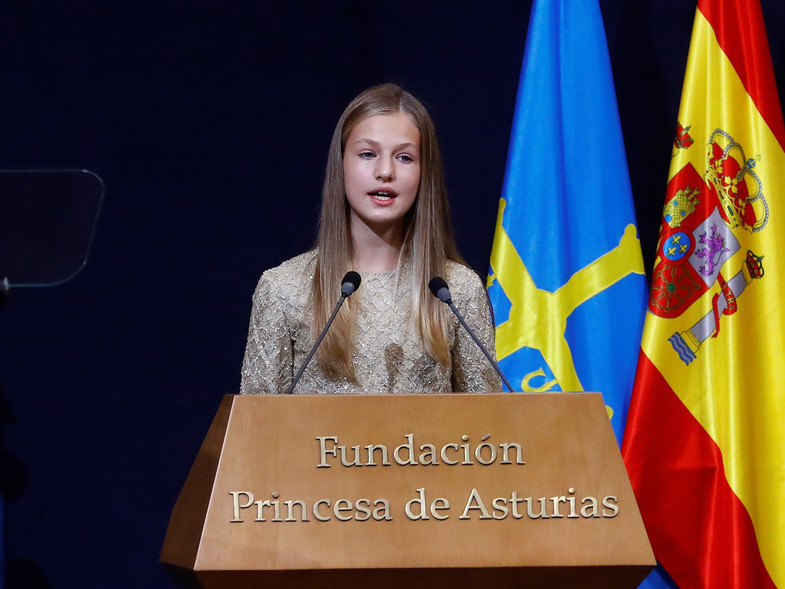 Princesa Leonor reina Letizia 1
