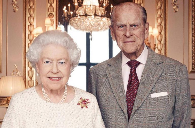 Elizabeth II y el duque de Edimburgo