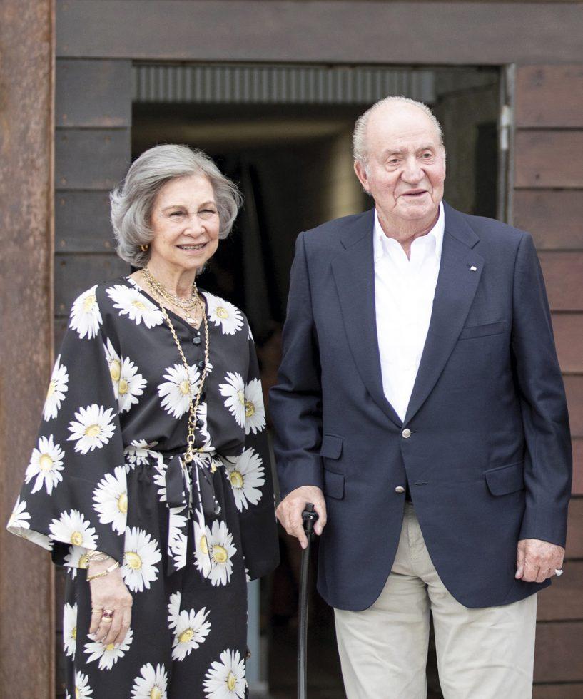 Rey Juan Carlos reina Sofía cumpleaños