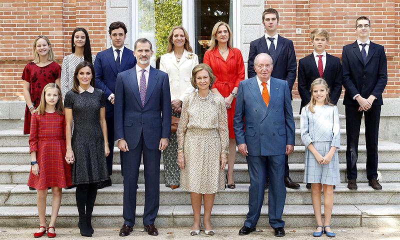 Rey Juan Carlos reina Sofía cumpleaños 2