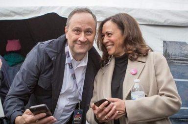 Kamala Harris y Douglas Emhoff