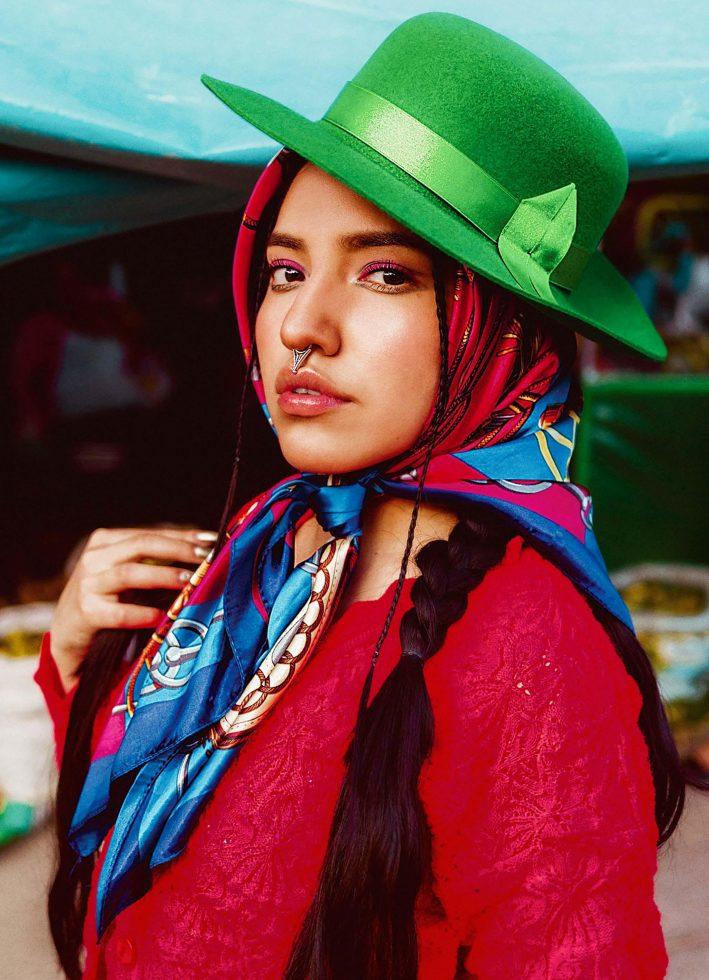 Renata Flores Reina del Rap en quechua 3