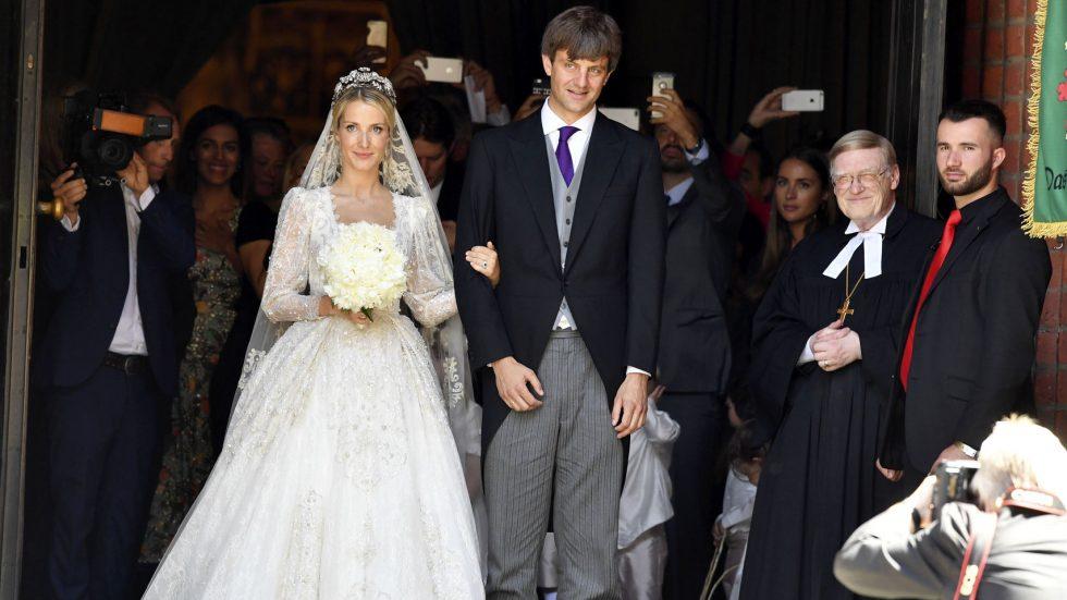 Ernesto de Hannover Jr y su esposa. Al parecer, el matrimonio no gozó del consentimiento del patriarca.