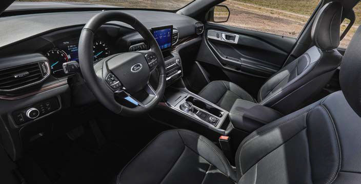 equipamiento Ford All New Explorer