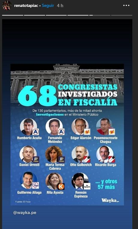 Tapia Selección Peruana vacancia prsidencial 1
