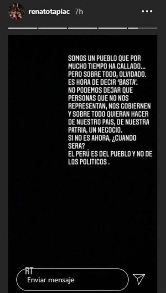 Tapia Selección Peruana vacancia prsidencial 2