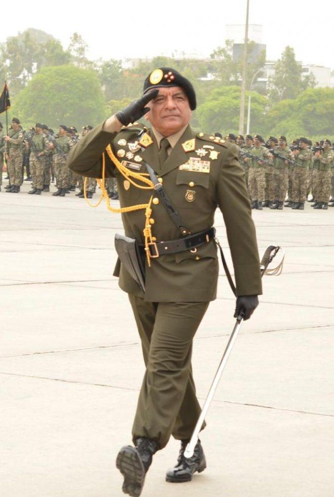 jefe del Comando Conjunto de las Fuerzas Armadas, general EP César Astudillo