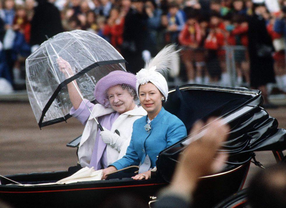 reina madre y princesa margarita